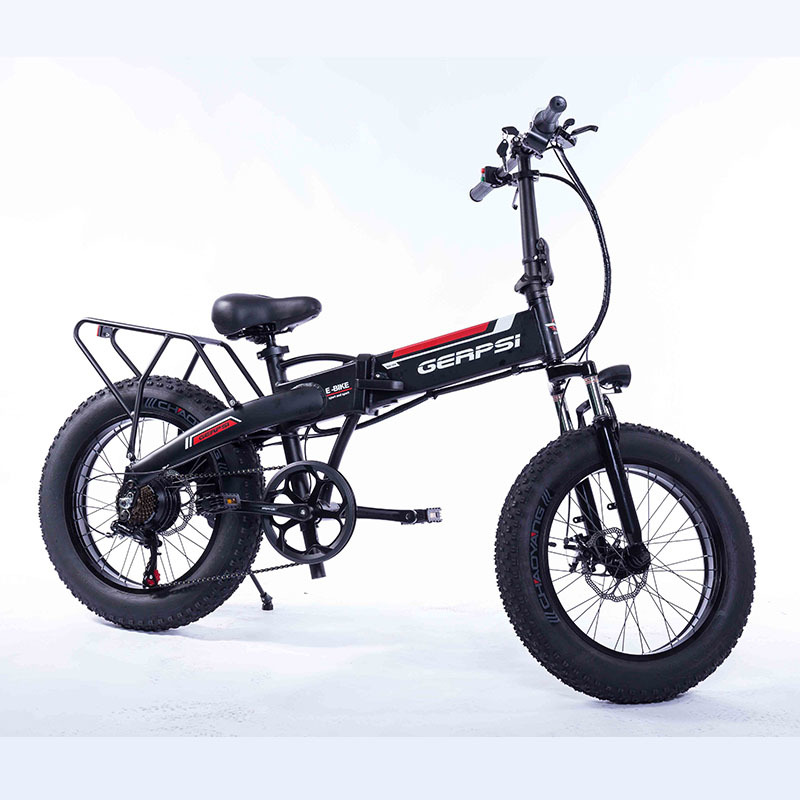 350w Gps--02002ea Inch Folding E Bike 36v 20 10ah Lithium Electric Folding Electric Bicycle Adult W bicicleta electrica 8
