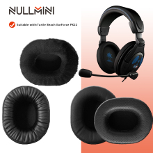 NullMini Replacement Earpads for Turtle Beach EarForce PX22 Headphones Memory Foam Thicken Leather Sleeve Earphone Earmuff