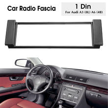 Enkele Din Auto Radio Audio Dashboard Fascia Cover Panel Plate Frame Voor Audi A3 8L A6 4B Fascias(China)