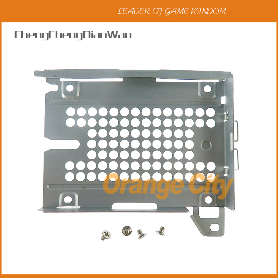 1set New Hard Disk Drive HDD Mounting Bracket Caddy With Screws For PS3 CECH-2000 3000 Series Console