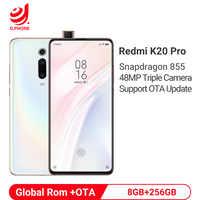 Globale Rom Xiaomi Redmi K20 Pro 8GB 256GB Snapdragon 855 Octa Core 4000mAh Pop-up Anteriore macchina fotografica 48MP Posteriore Della Macchina Fotografica Per Smartphone