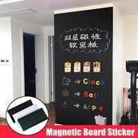 Magnetic Self adhesive Blackboard Stickers Children Graffiti Wall Stickers Office Presentation Boards Whiteboard Chalk Drawing