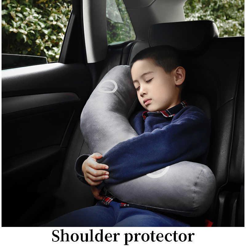 Çok fonksiyonlu araba çocuk bel yastığı kafalık Ford Focus 2 için 3 Fiesta Mondeo Ranger Kuga koltuk Leon Ibiza Lexus Mitsubishi