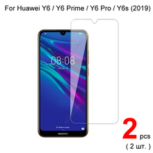 واقي شاشة زجاجي لهاتف هواوي Y6 2019 / Y6 Pro / Y6 Prime 2019 من الزجاج المقسى لهاتف هواوي Y6s 2019