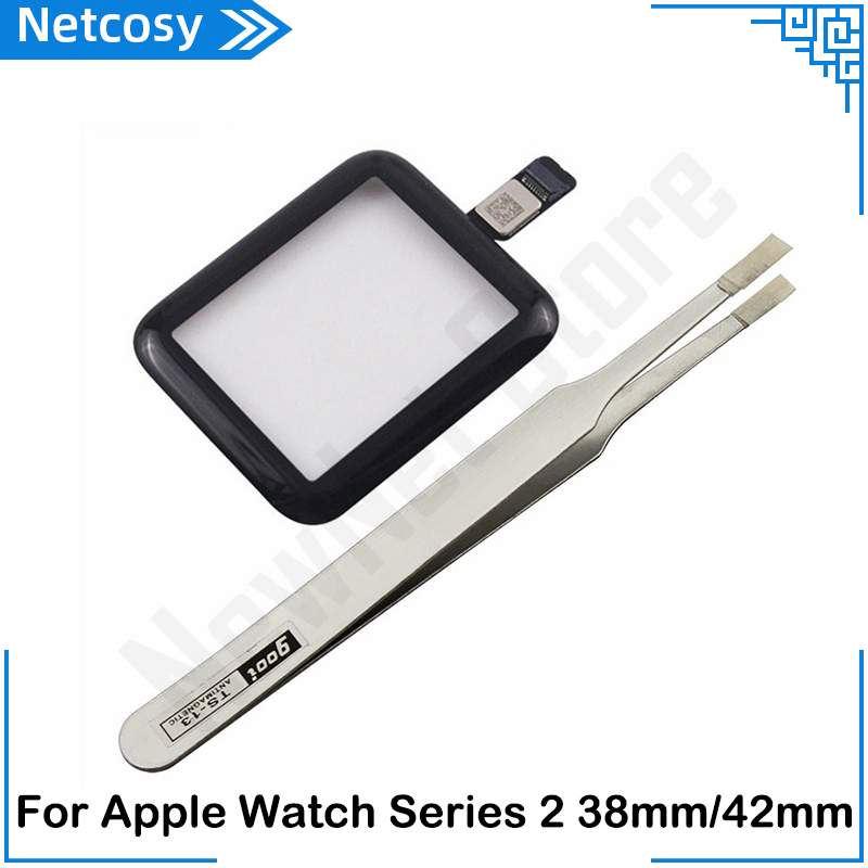 38mm <font><b>42mm</b></font> <font><b>Touch</b></font> <font><b>Screen</b></font> Digitizer Glass Lens Panel <font><b>Replacement</b></font> parts For <font><b>Apple</b></font> <font><b>Watch</b></font> Series 2 38mm <font><b>42mm</b></font> TouchScreen Repiar parts image