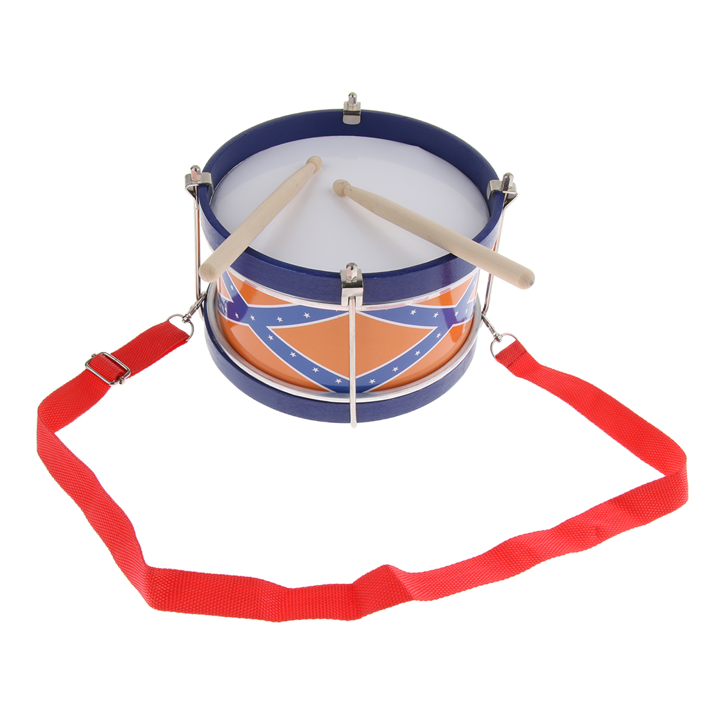Hand Percussion Snare Drum With Wood Mallets For Children Early Educational