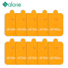 10PCS Big Size  Electrode Pads for Electric Tens Acupuncture Digital Therapy Machine for Slimming Body Massager