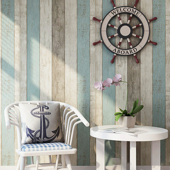 Self Adhesive Wallpaper Paper Lining Furniture Vinyl Roll Wood Wall Plated Kitchen Imitation Contact