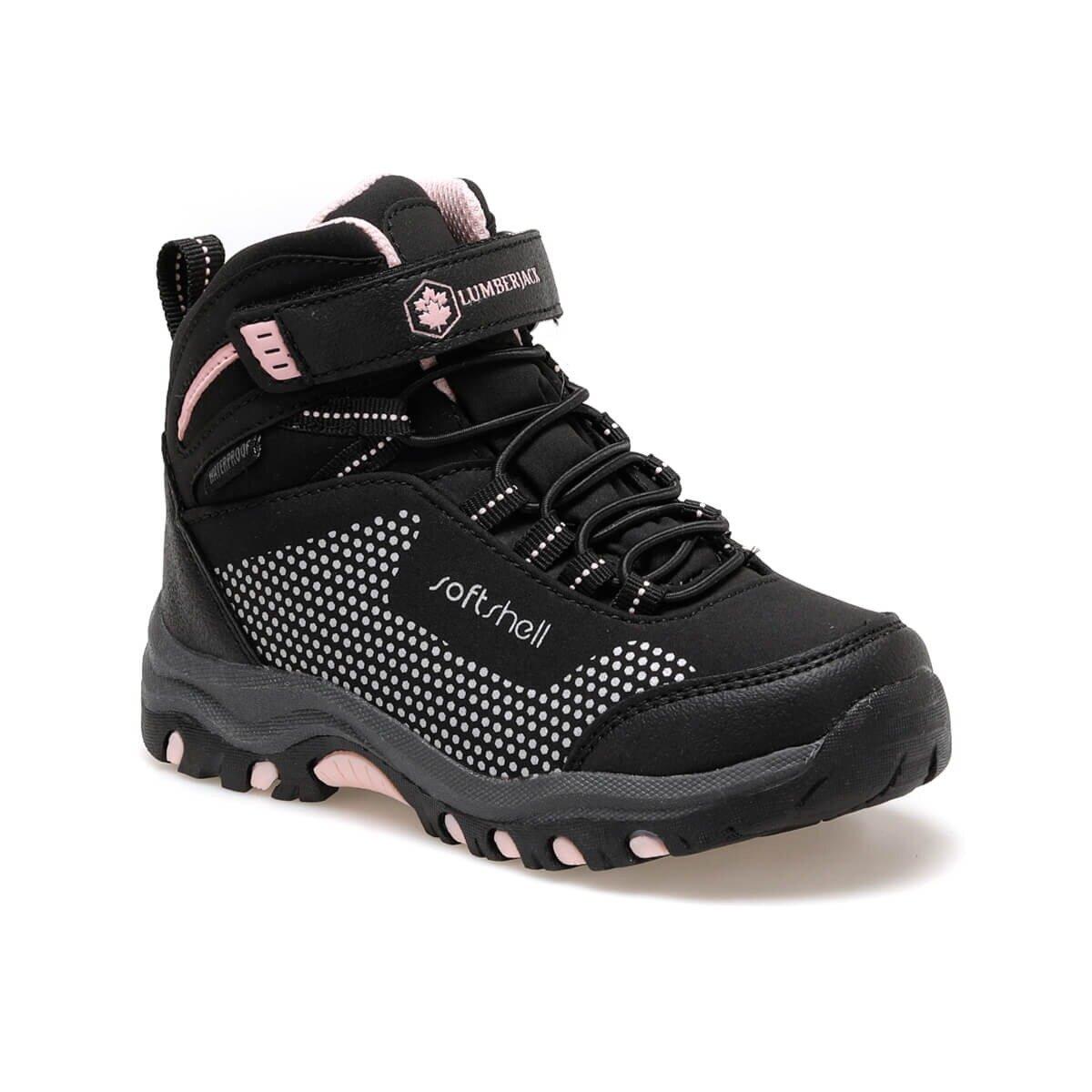 FLO FULLER HI 9PR Black Girls Child Outdoors Boots LUMBERJACK