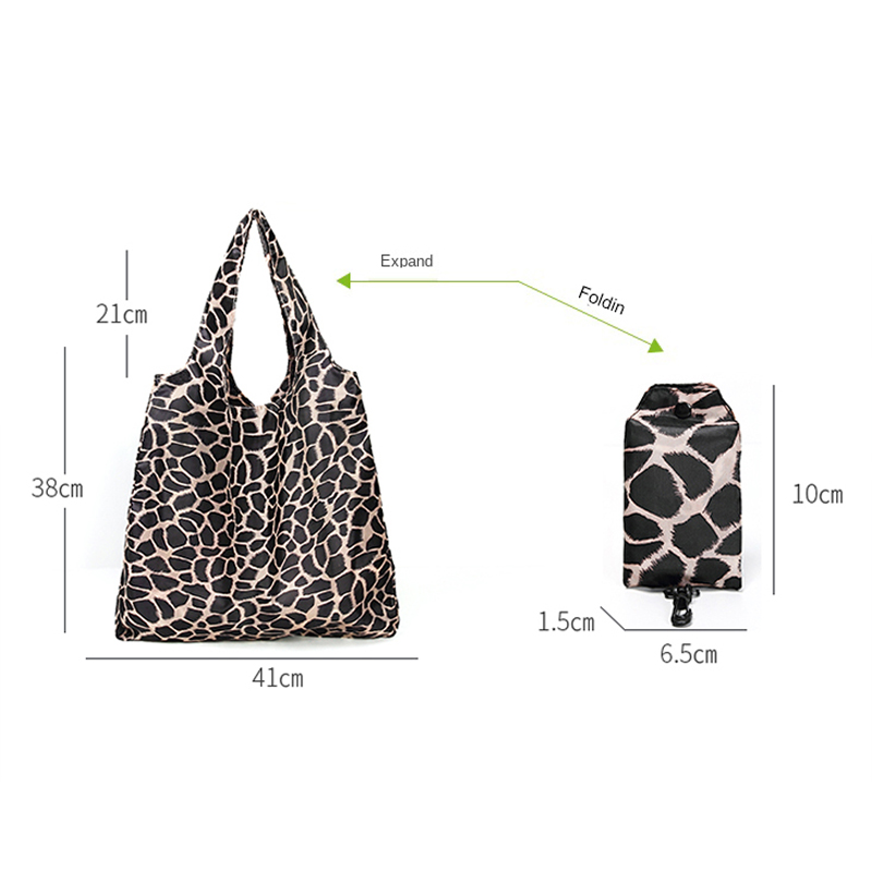 Durable Lightweight Shopping Bags Reusable Foldable Totes Large 31LBS Cute Pattern Bags Ripstop Washable Eco-Friendly Grocery