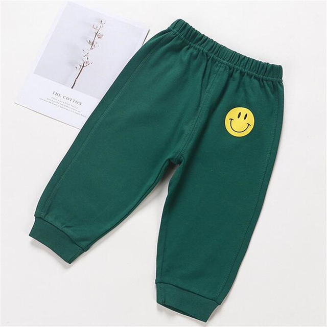 Baby's Cotton Pants with Elastic Waist 6