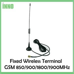 Image 5 - GSM 850/900/1800/1900MHZ אלחוטי קבוע מסוף עם LCD תצוגה, תמיכה מעורר מערכת, PABX, ברור קול, אות יציבה