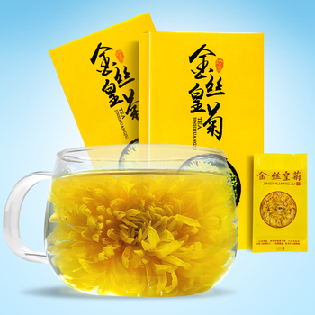Big Chrysanthemum Big Chrysanthemum Tea a Cup of Florists Chrysanthemum Gift Set Wuyuan Tea 10 Flowers a Box фото