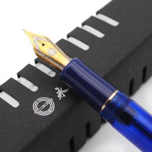 Image 5 - Wing Sung 699 Translucent Vaccum Filling Fountain Pen EF / F / M Nib Ink Pen Original Box
