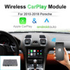 JoyeAuto bezprzewodowy Apple Carplay dla Porsche 911 Bosxter Cayman Macan Cayenne Panamera PCM3.1 CDR3.1 PCM4.0 Android Auto moduł