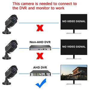 Image 2 - Hiseeu cámara de vigilancia AHD de 5MP 1080P, videocámara CCTV exterior impermeable de Metal, cámara de seguridad para exteriores, bala para sistema CCTV DVR