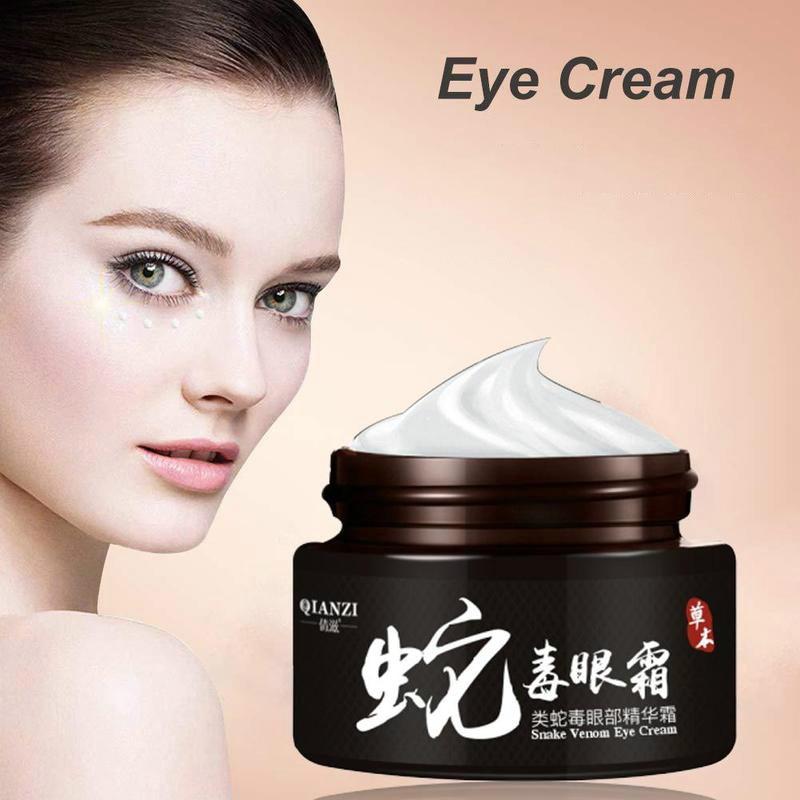 Eye Cream Snake-venom Dark Circle Eyes Bags Removal Lifting Firming Relax Smooth Nourishing Eye Care Cream 30g