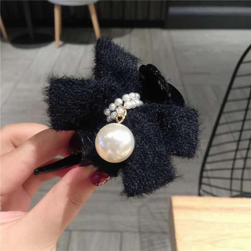 Lã de Cabelo Garras Hairpin Acessórios Mulheres