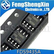 10 шт./лот FDS9435A SI9435 APM9435A 9435A 9435 одиночный P-канальный режим улучшения полевой транзистор SOP-8