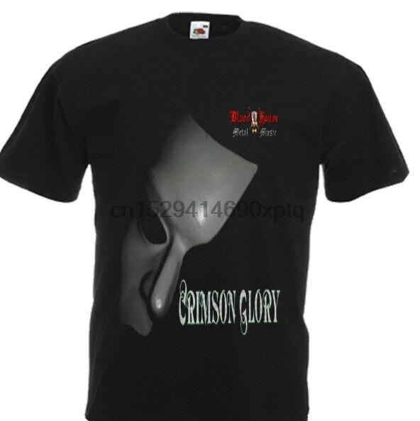 CRIMSON GLORY FIRST ALBUM 1986 PROGRESSIVE HEAVY METAL NEW BLACK T-SHIRT