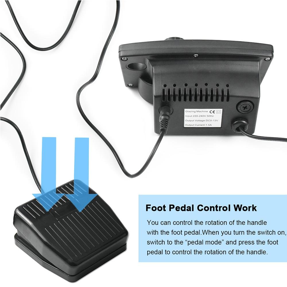 Image 4 - 35000RPM Manicure Machine Nail Drill Machine For Manicure Pedicure Nail Art Equipment Electric Nail File Nail Drill Bit ToolElectric Manicure Drills   -
