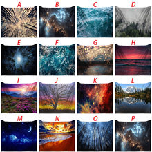 Art Nature Home Decorations Tapestry Night Tapestry Wall Bedroom Living Room Household Family Home Accessories Dropshipping(China)