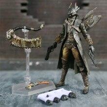 """משחק Bloodborne צייד 6 """"פעולה איור 1/12 15cm דמויות KO של FGM 367 MF מסאקי APSY בובת צעצועים דגם צלמית"""