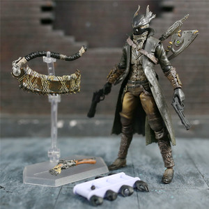 "Image 1 - Game Bloodborne Hunter 6"" Action Figure 1/12 15cm Figures KOs FGM 367 MF Masaki APSY Doll Toys Model Figurine"