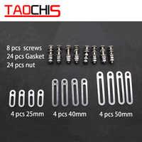 TAOCHIS Kopf licht Retrofit Werkzeuge Adapter Rahmen Für 3,0 Koito Q5 Hella 3R Projektor Objektiv Anschluss Platten 25mm Ändern schrauben