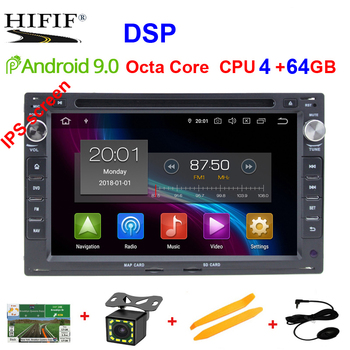 DSP IPS 4G Android 9.0 Car GPS For VW PASSAT B5 B4 JETTA BORA GOLF 4 SHARAN POLO MK5 MK4 MK3 T5 TRANSPORTER for Peugeot 307 dvd