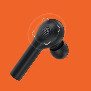 Image 2 - Youpin T5 prawdziwy bezprzewodowy zestaw słuchawkowy Bluetooth obuuszne sportowe uniwersalne słuchawki douszne do telefonu Huawei Apple Android