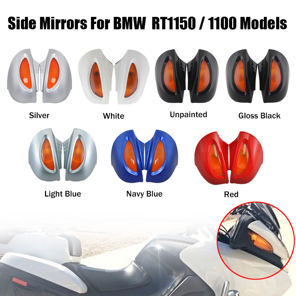 7 colors Motocycle Rearview Mirror Side Mirrors Fit For BMW R1100 RT R1100 RTP R1150 RT
