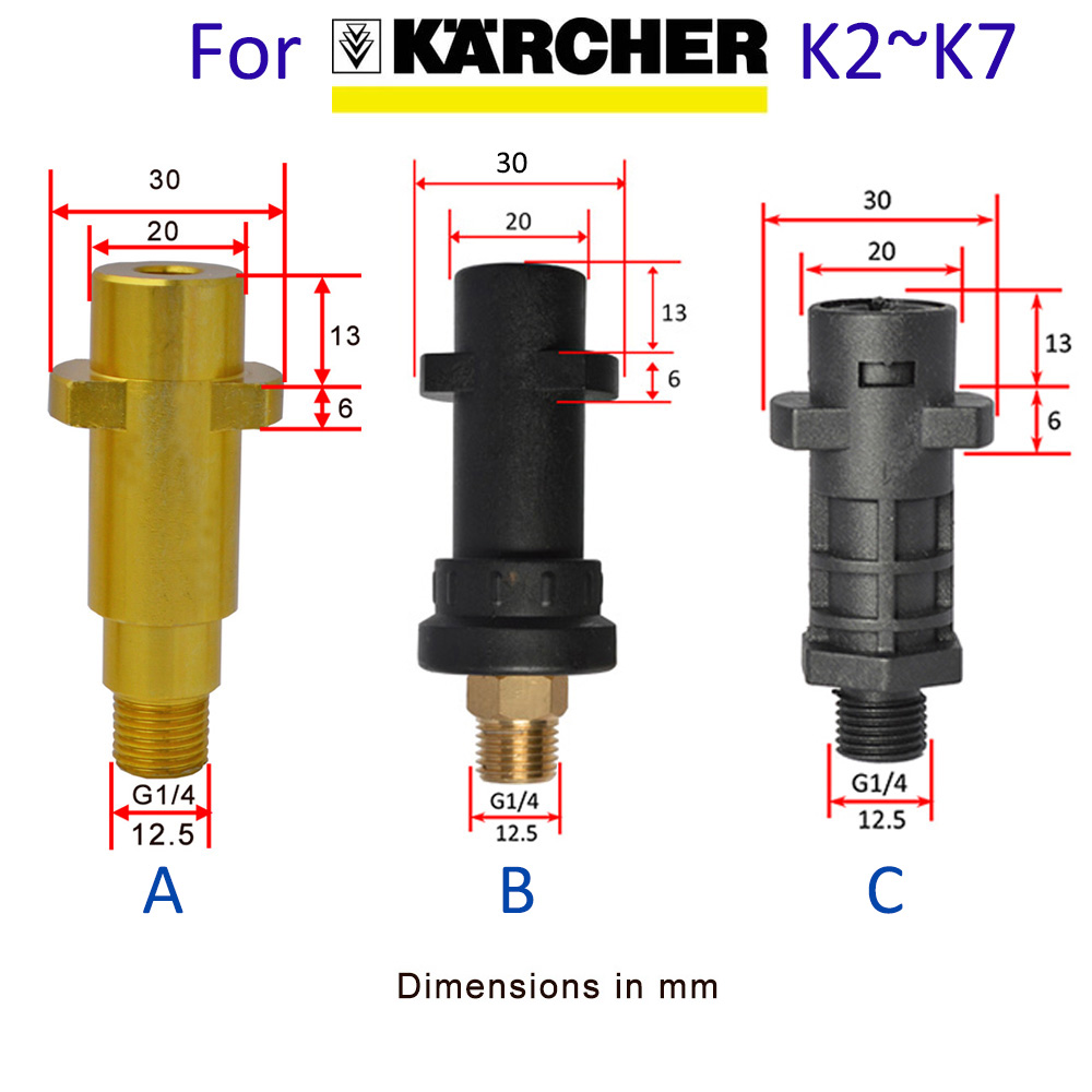 Foam Generator Foam Cannon Foam Nozzle Car Foam Wash for Karcher K2 K3 K4 K5 K6 K7 Tornado Gun High Pressure Washer Car Washer 4
