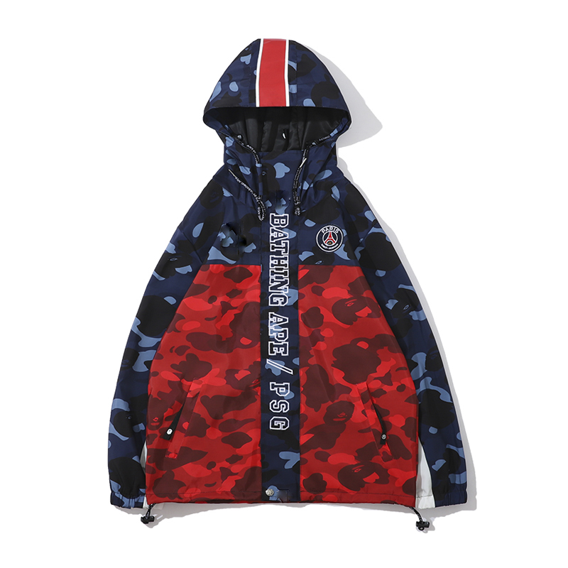 2019 New Winter Camouflage Cap Thin Windshield Teenager  Oversize Coat  Cosplay Christmas Harajuku  Hoodie  Coat Men