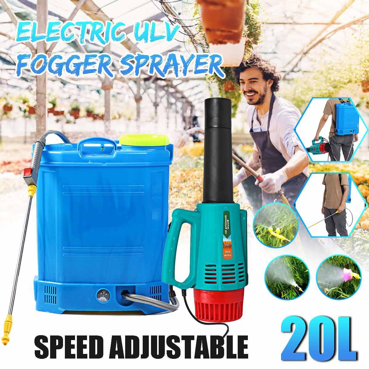 20L Electric Sprayer Intelligent Agricultural Pesticide dispenser Garden equipment 220V Rechargeable Lead acid battery-0