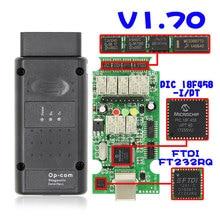 OPCOM V5 Для Opel OP COM V1.70 flash обновление прошивки PIC18F458 FIDI CAN BUS OBD OBD2 сканер Automotriz автомобильный диагностический инструмент