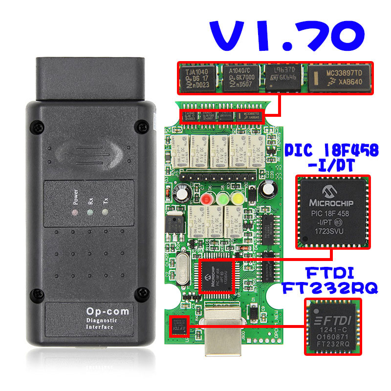 NEW V1.99 Vauxhall Opel Diagnostic tool Tech2 OBD2 Diagnostic OPCOM INTERNET
