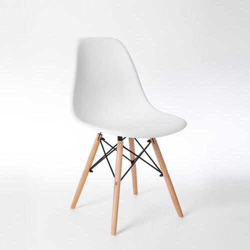 Скандинавские стулья для столовой, простые современные складные маленькие квартиры, ленивые домашние столы, задние пластиковые компьютерные кресла - Цвет: 11