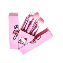 8Pcs Moonlight Treasure Box Makeup Brush Set Cute Cat Shape Girl Gift