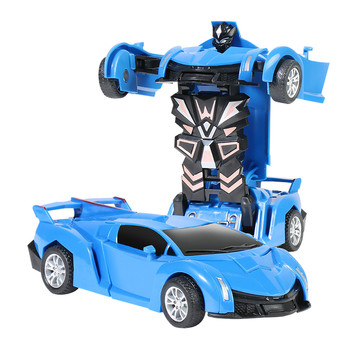 1:32 Transformer Pull Back Model Toy Collision Car Children Deformation Transformation Car Robot Toys Gifts For Kids Children image