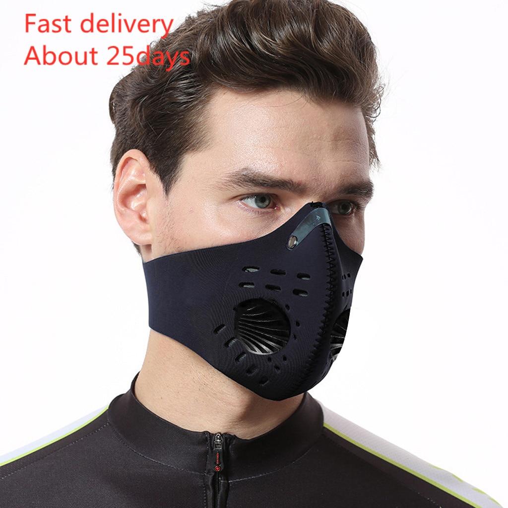 Mascarilla Masks Dust Mask Anti Pollution Respirator PM2.5 Dustproof Safety Mask Washable Mascaras