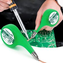 Ventosa de soldadura trenzada con rueda de pulgar, 1 Uds., dispensador, removedor de soldadura, ventosa, desoldadora