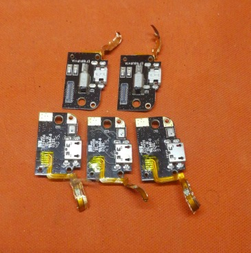 For PPTV PP King 7 PP6000 USB Plug Charge Board + Microphone Replacement Assembly