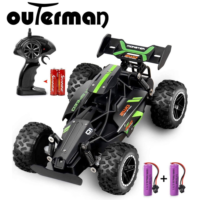 Hot DealsOuterman RC Car 1:18 Scale 2.4Ghz Remote Control RC High Speed Racing Car Electric Toy Car RC Auto Cars for Adults & Kids