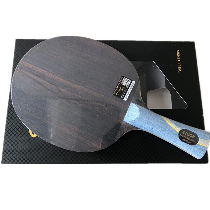 W968-5 Structure Table Tennis Racket 5 Ply Wood Plus 2 Ply Arylate Carbon Inner  Ping Pong Bats For Table Tennis Blade