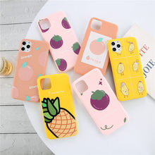 Moskado Summer Fruits Cartoon Phone Case For iPhone 11 Pro Max SE 2020 X XS XR XS Max 6 6s 7 8 Plus Soft TPU Silicone Back Cover(China)