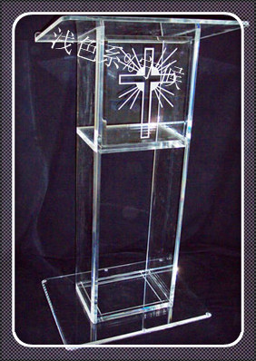 Pulpit FurnitureFree Shipping Simple Elegant Acrylic Podium Pulpit Lecternacrylic Pulpit