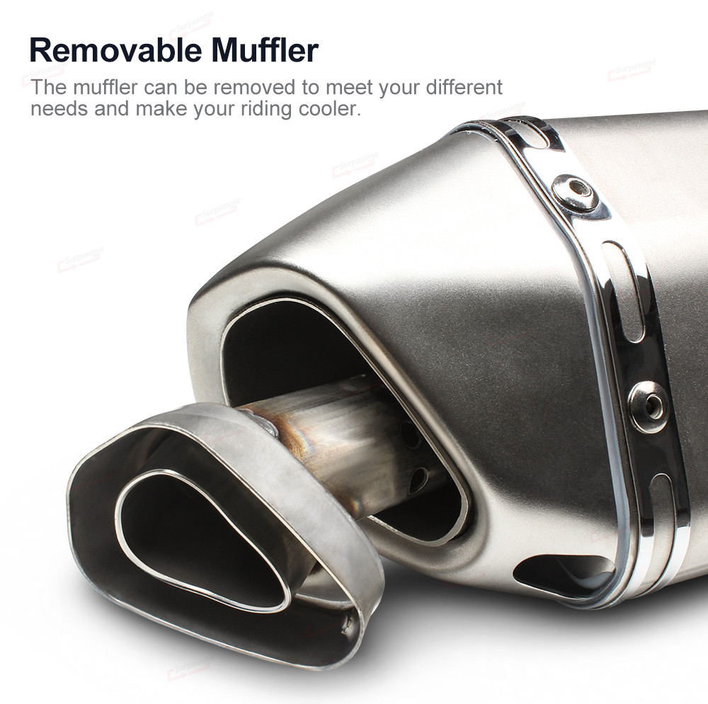 Universal Motorcycle Exhaust Pipe Akrapovic (15)