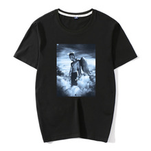 New Men O-Neck 100%Cotton T Shirt XXXtentacion Rest in Peace RIP Angel T-shirts Short Sleeve Novelty Tops Tee Hipster