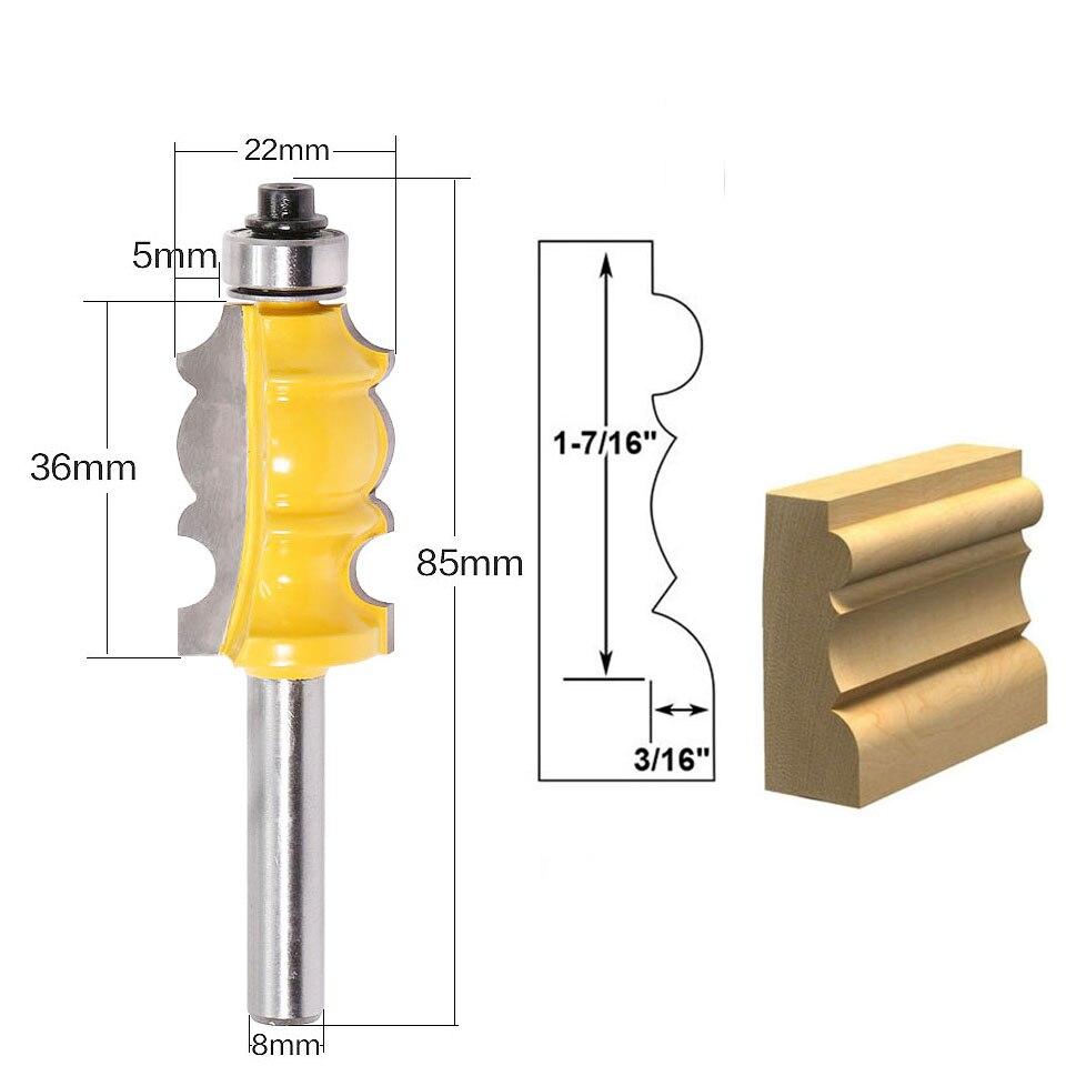 8 мм хвостовик архитектурного цементированного карбида литья